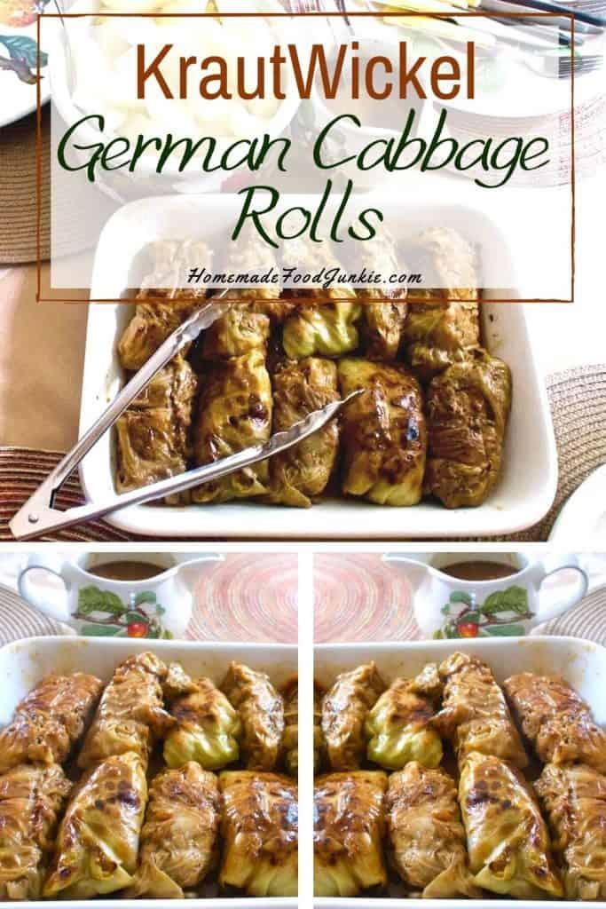 German Cabbage Rolls-pin image