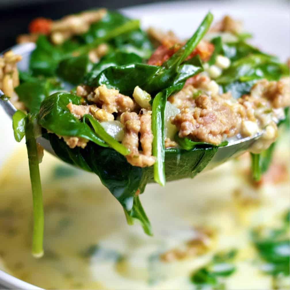 Tuscan Keto soup recipe