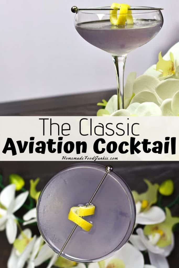 The classic aviation cocktail-pin image