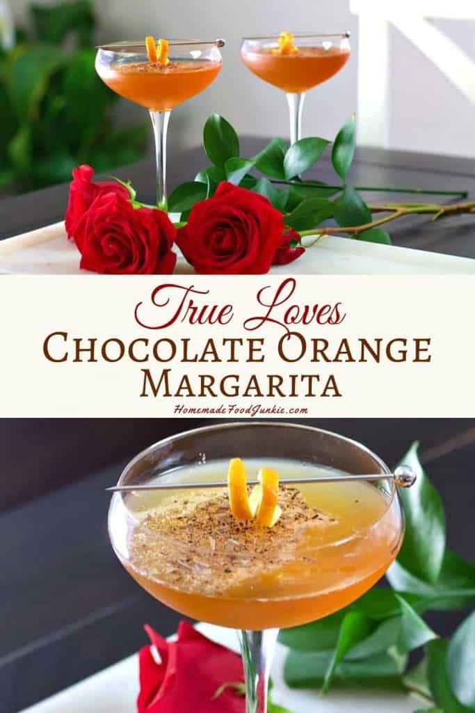 True loves chocolate orange margarita-pin image