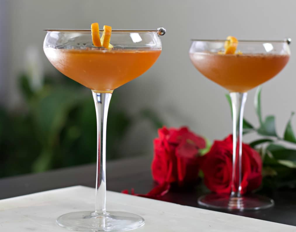 chocolate orange margaritas
