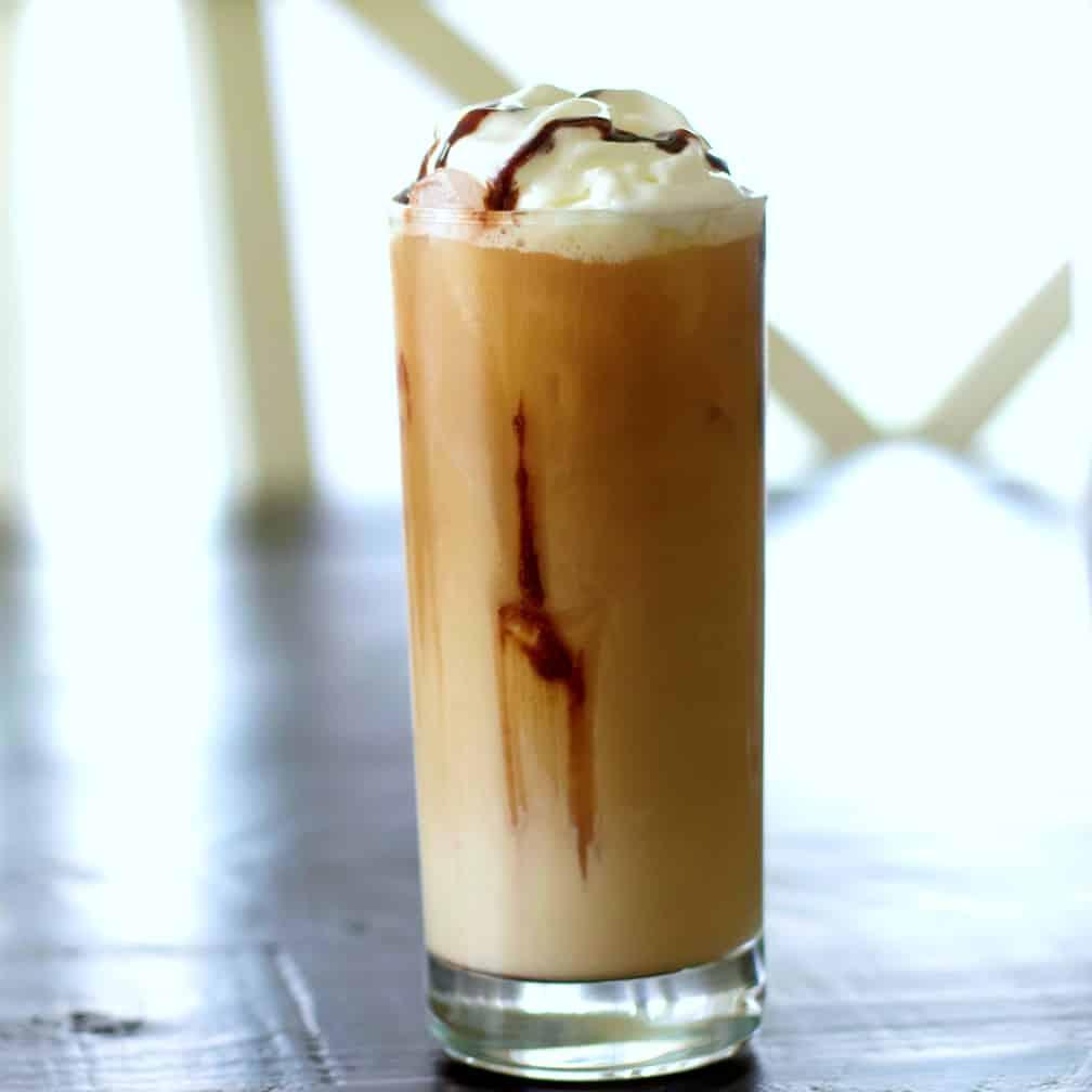 Ice coffee drink recipe