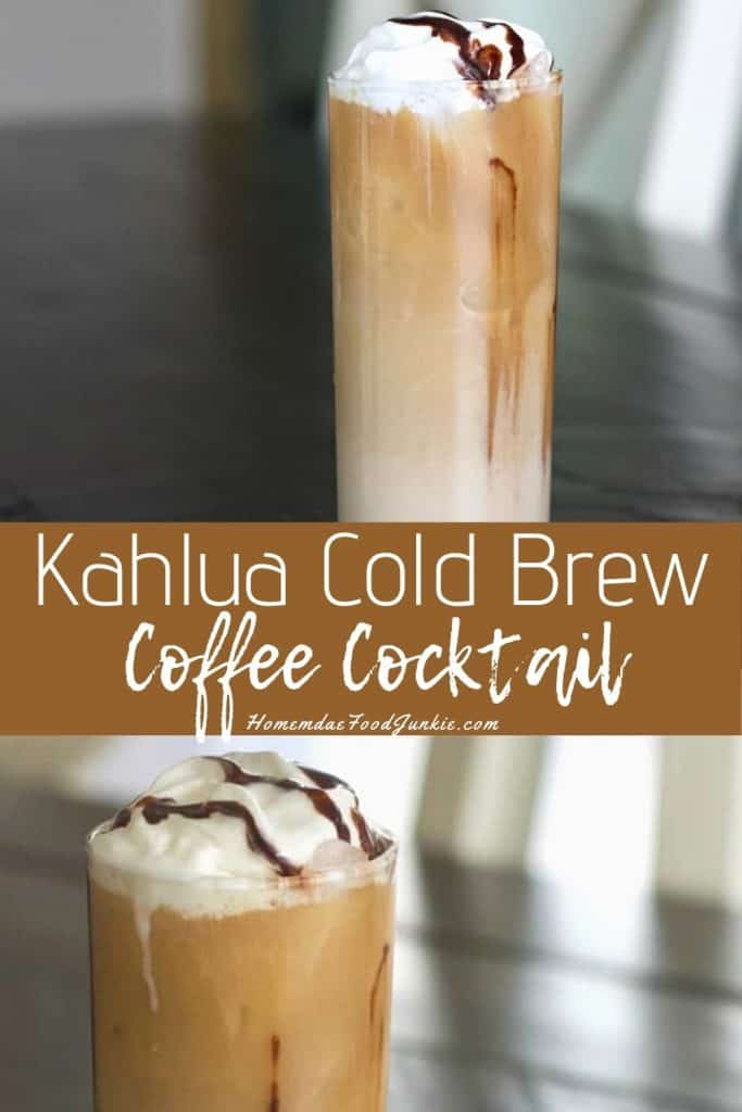 Kahlua Cold Brew Coffee Cocktail-pin image