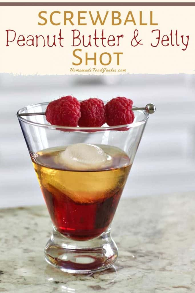 Screwball peanut butter and jelly shot-pin image