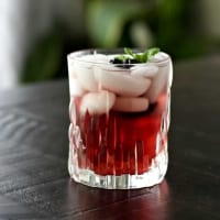 chambord drink with lime