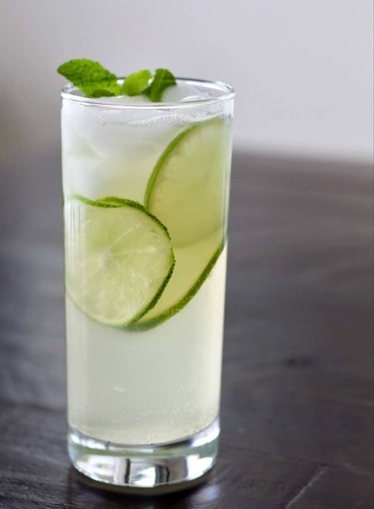 Mezcal cocktail