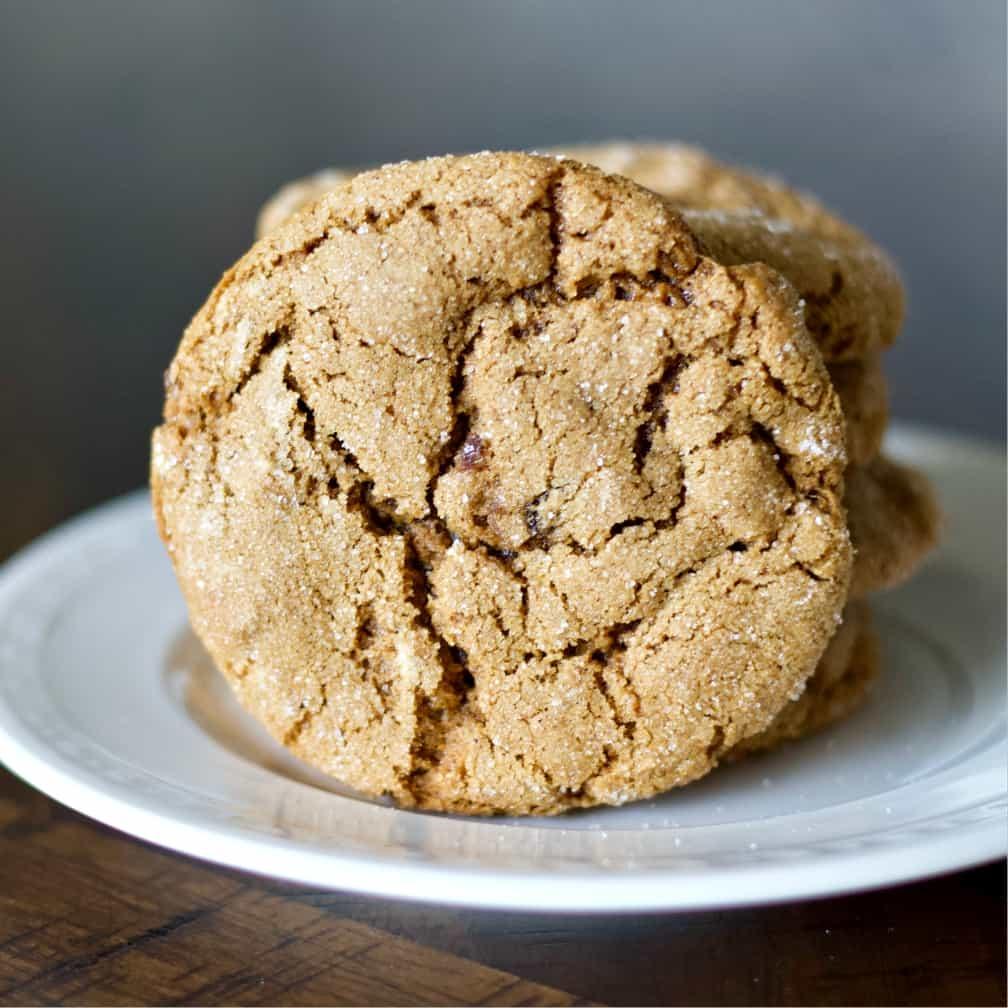 sourdough molasses cookies