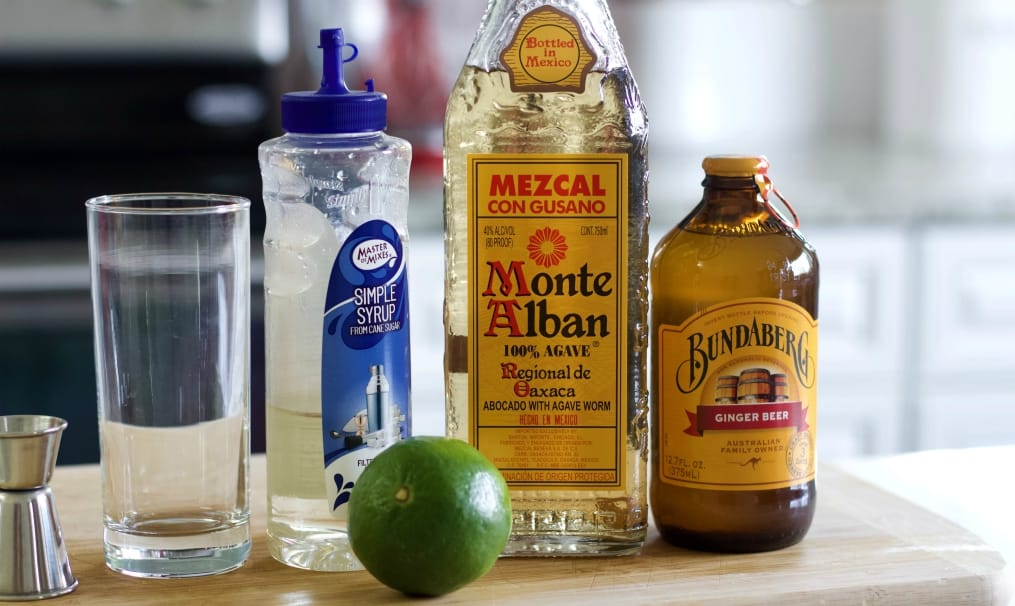 Mezcal mule ingredients