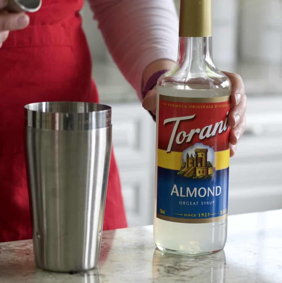 Toranis Almond simple syrup