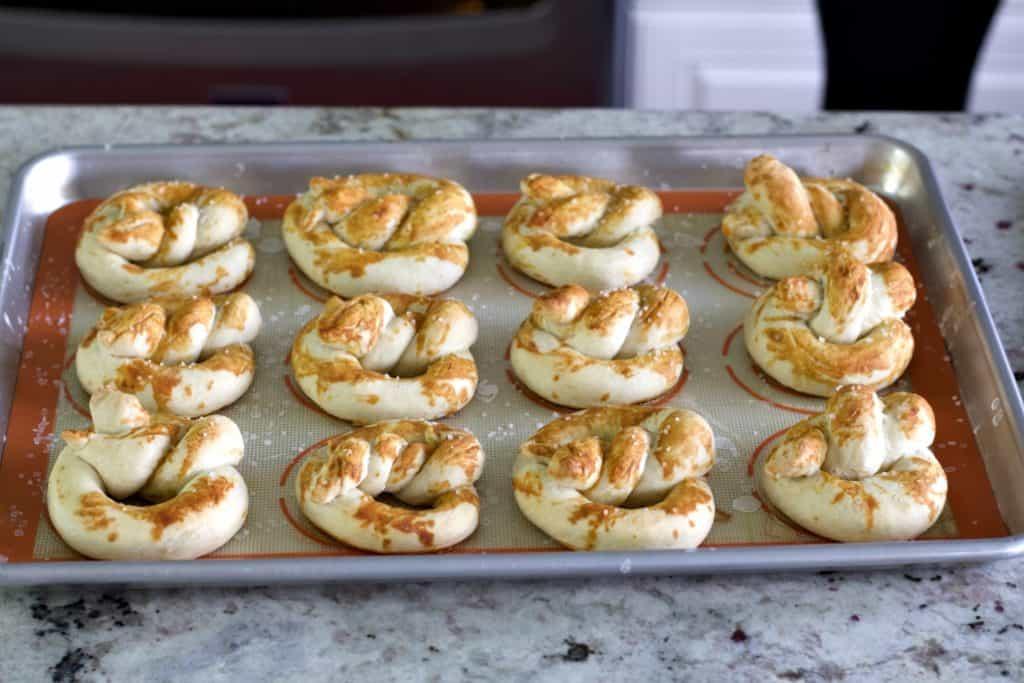 Bake Sourdough Pretzels
