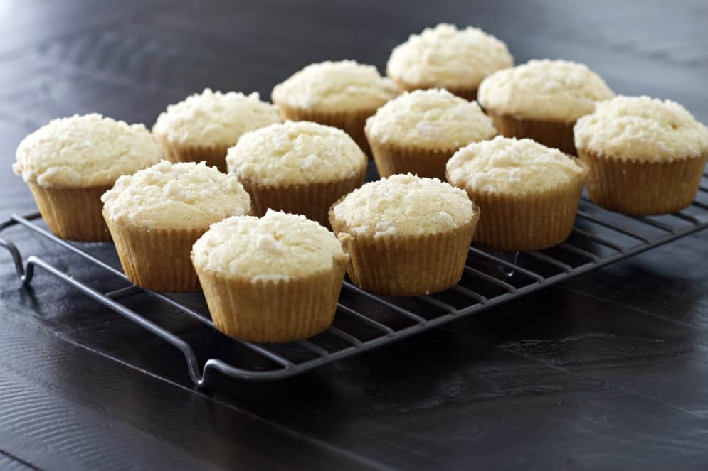 Cooling Cinnamon Muffins