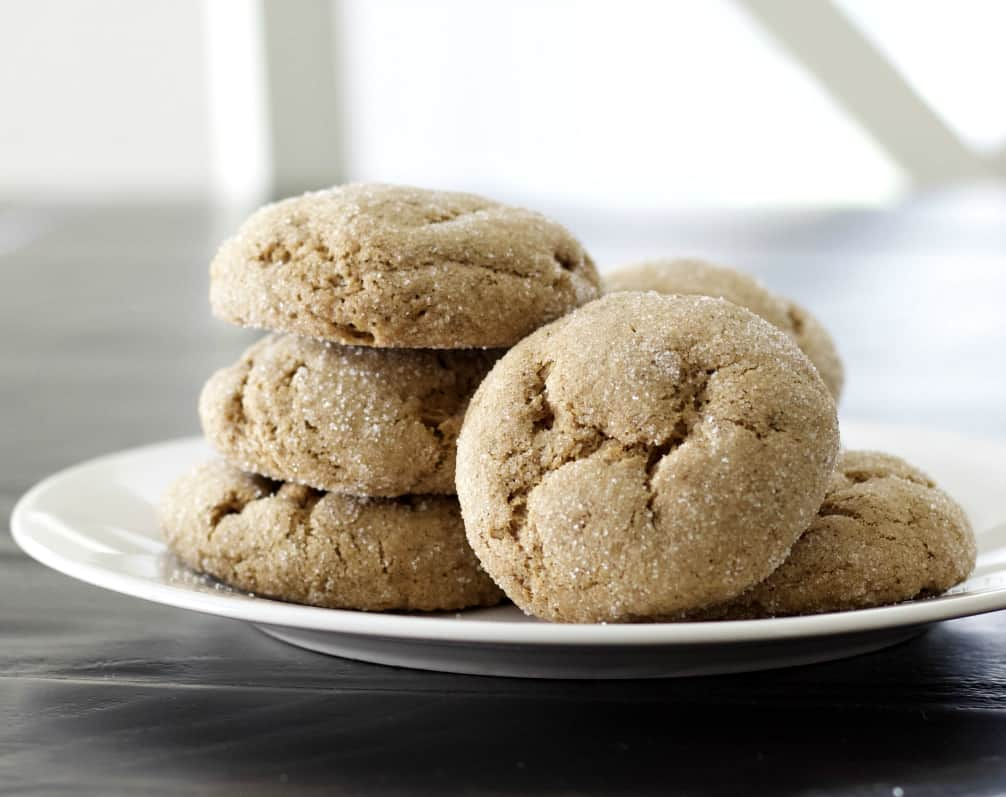 sourdough cookies with molasses