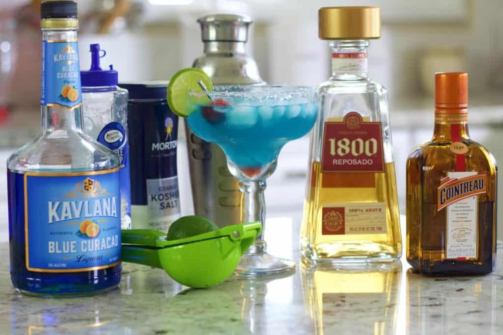 Blue Margarita Ingredients