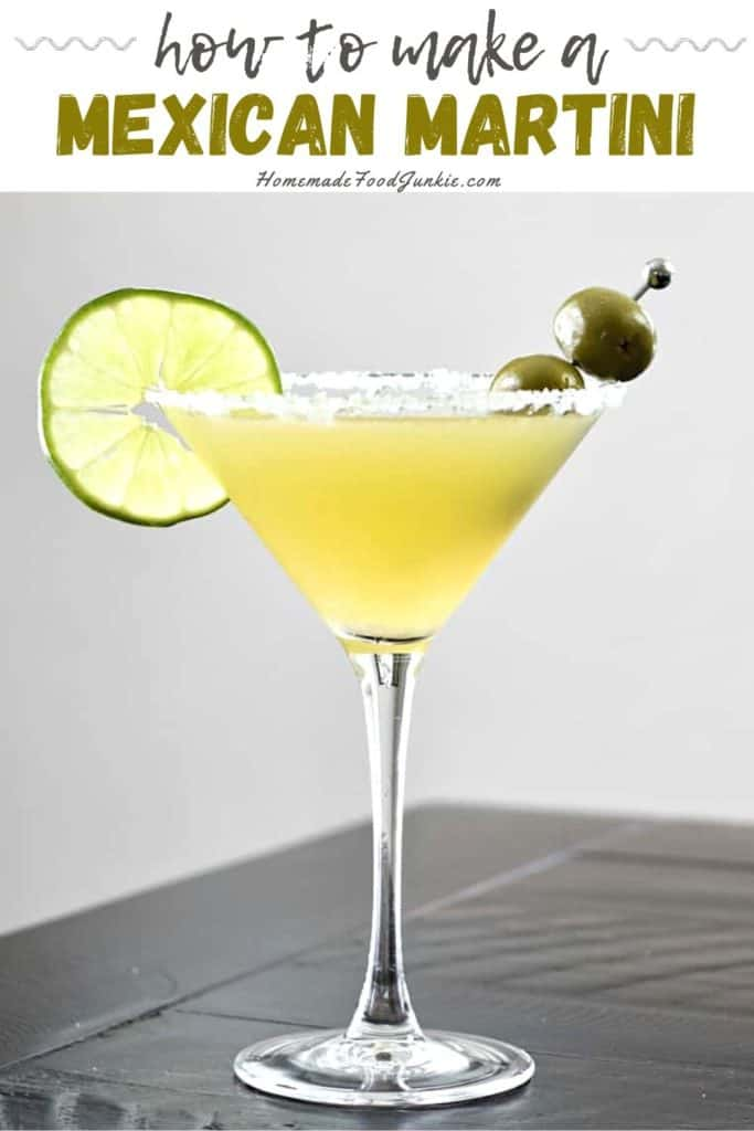 How to make a Mexican Martini-pin image