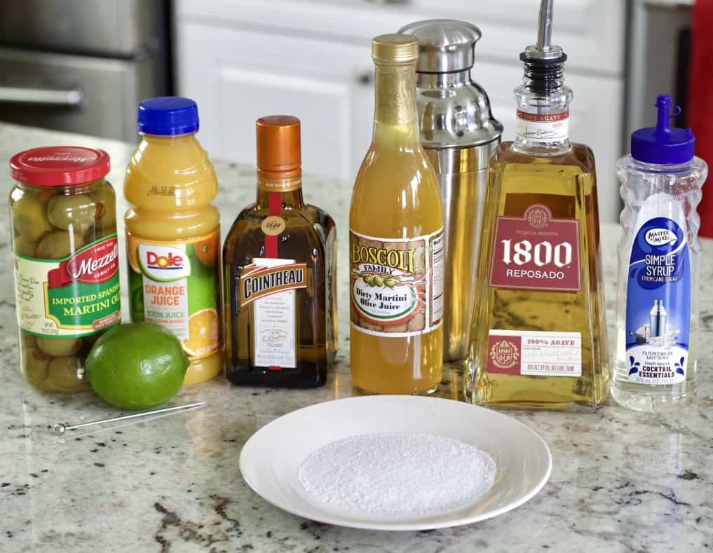 Mexican Martini Ingredients