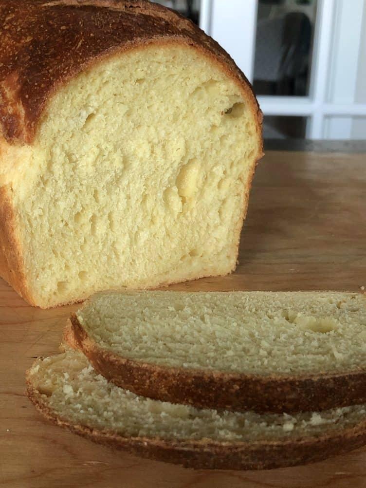 Milk And Honey Sourdough Sandwich Bread