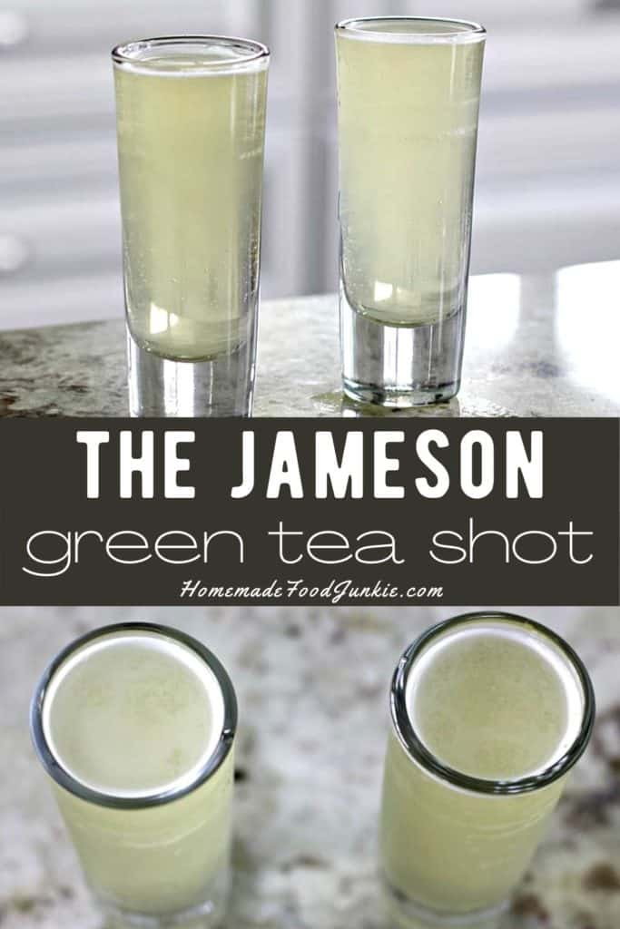 The Jameson green tea shot-pin image
