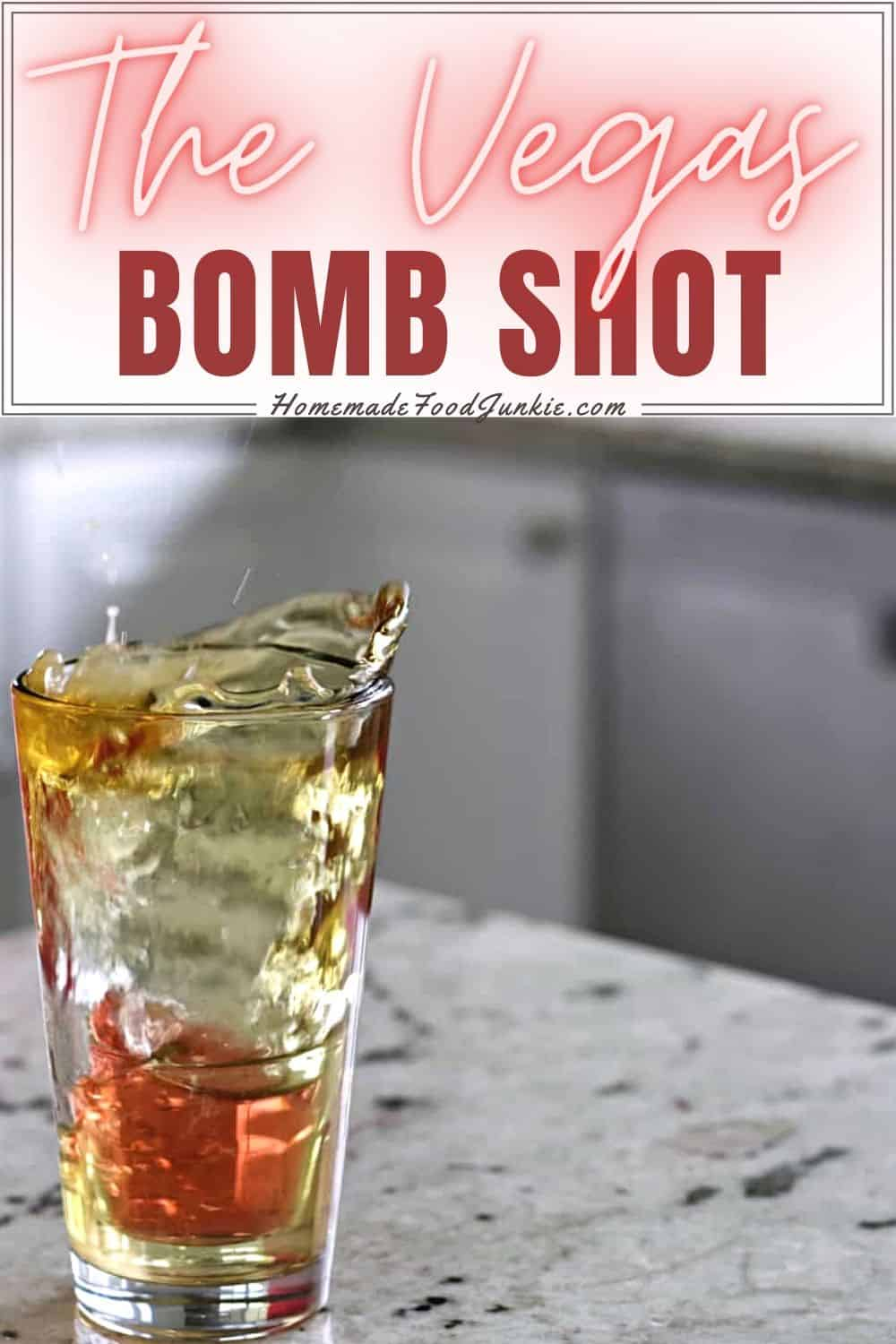 The Vegas Bomb Shot-pin image
