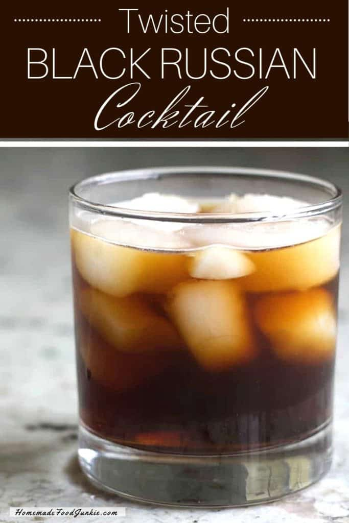 Twisted Black Russian-pin image