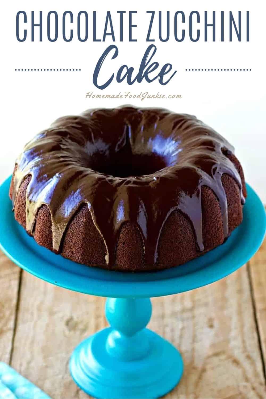 Chocolate Zucchini Cake-Pin Image