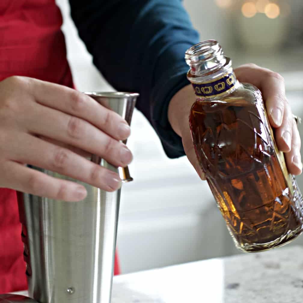 Adding Crown Royal To The Royal Flush Drink
