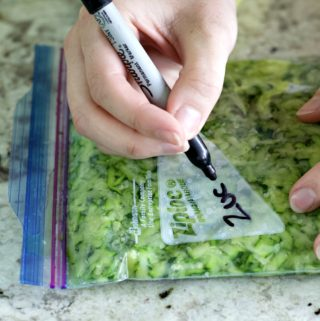 labeling zucchini