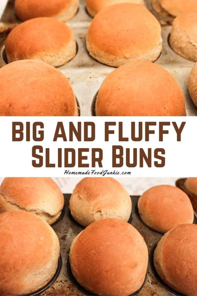 Big And Fluffy Slider Buns-Pin Image