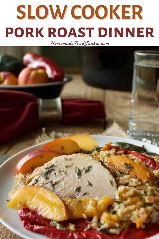Slow Cooker Pork Roast Dinner-Pin Image