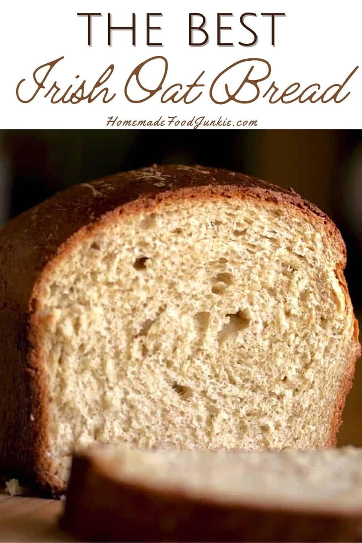 The best Irish oat bread-pin image