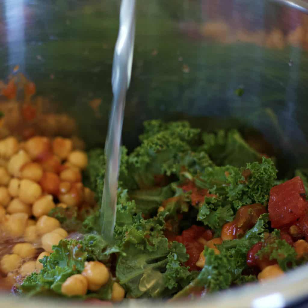 Kale in instant pot