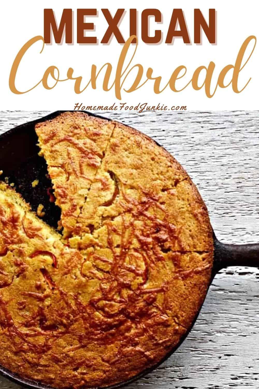 Mexican Cornbread-pin image