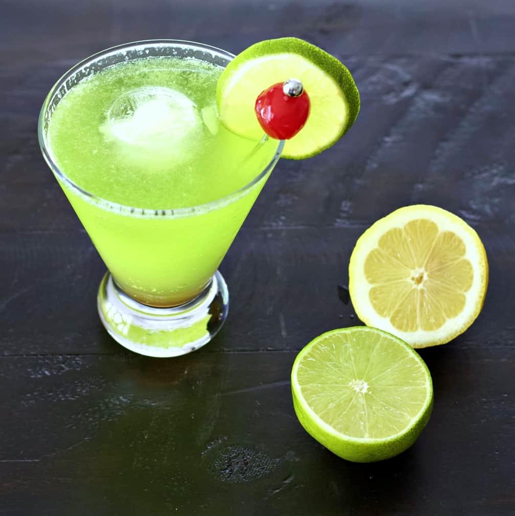 Midori Sour Cocktail
