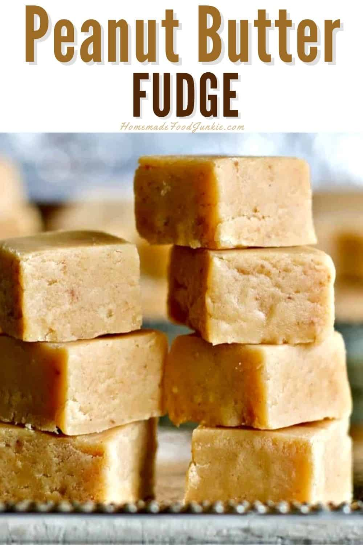 Peanut butter fudge-pin image