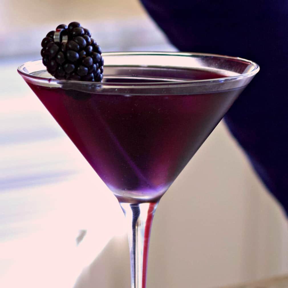purple rain drink close up