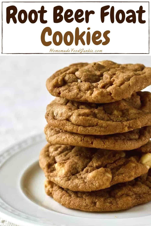 Root Beer Float Cookies-pin image