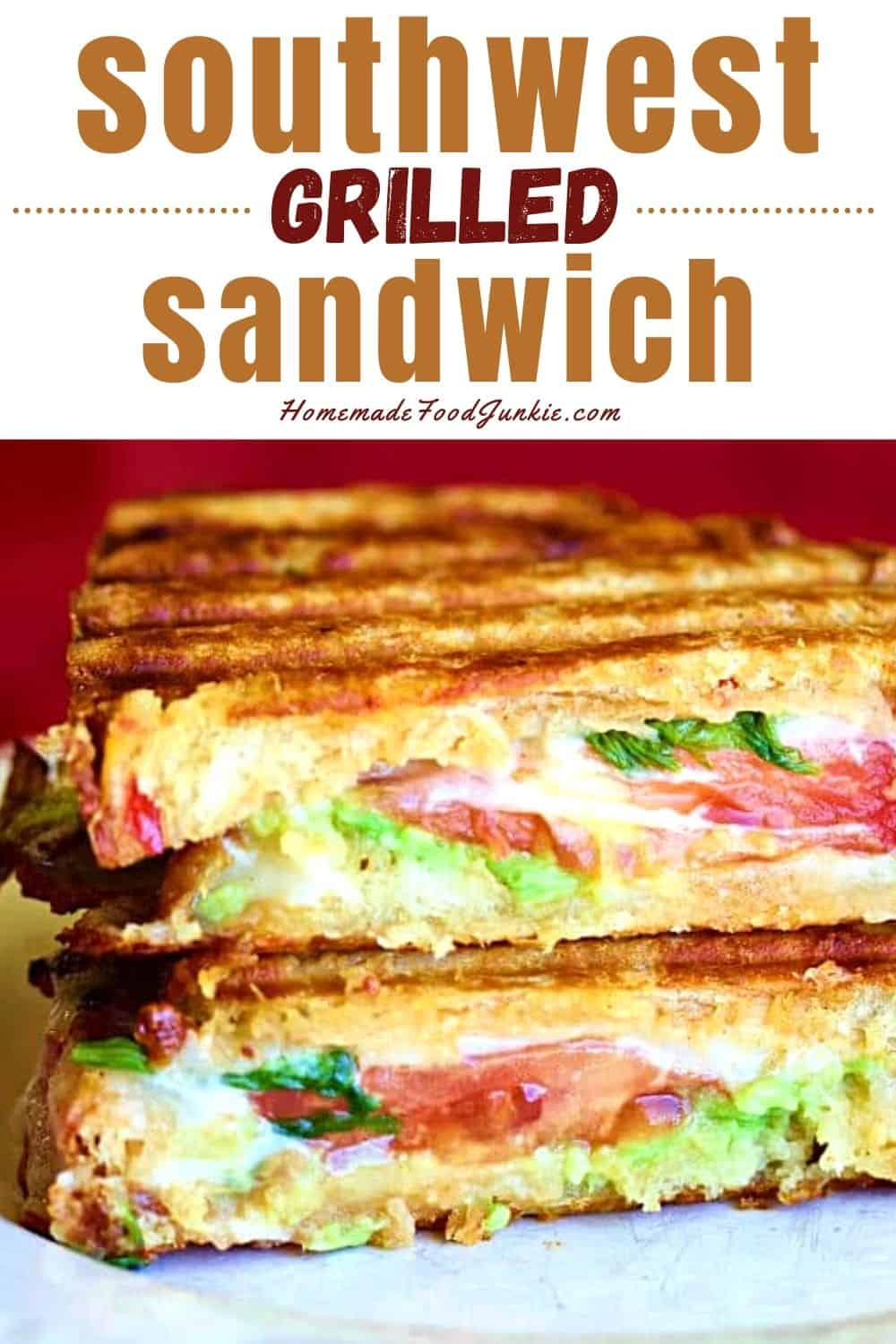 Southwest grilled sandwich-pin image