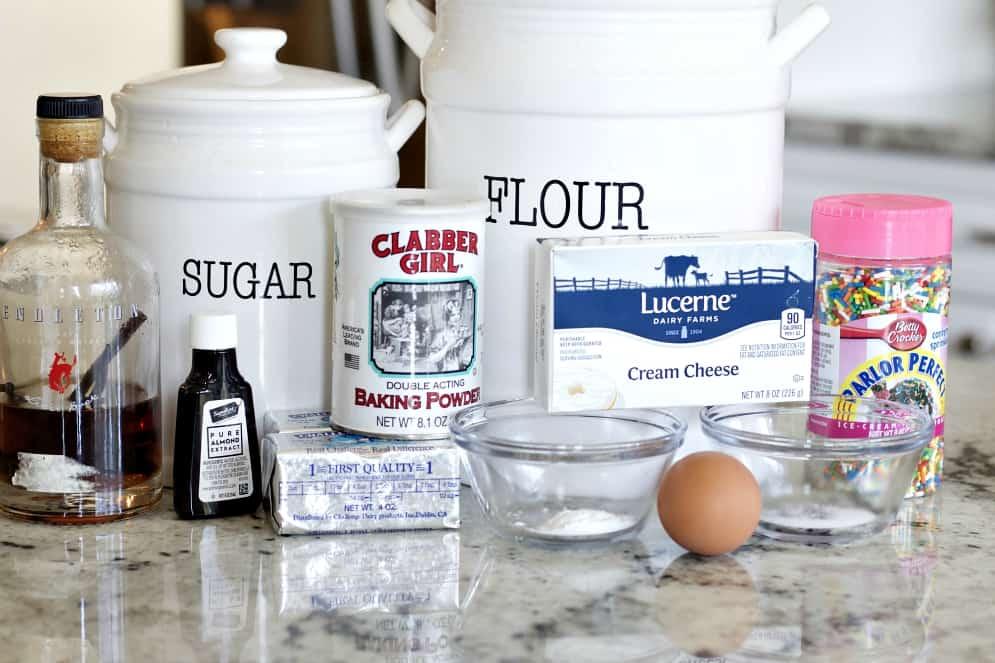 ingredients for sprinkle cookies