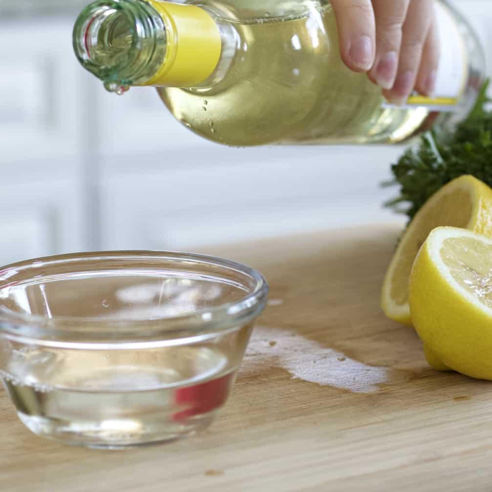 Pino Grigio for lemon butter sauce