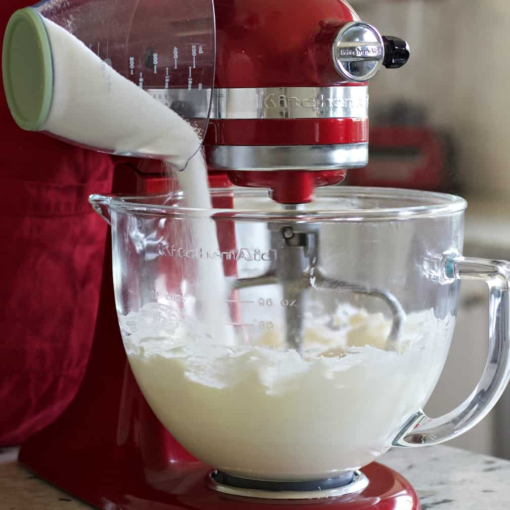 Pour In The Sugar.