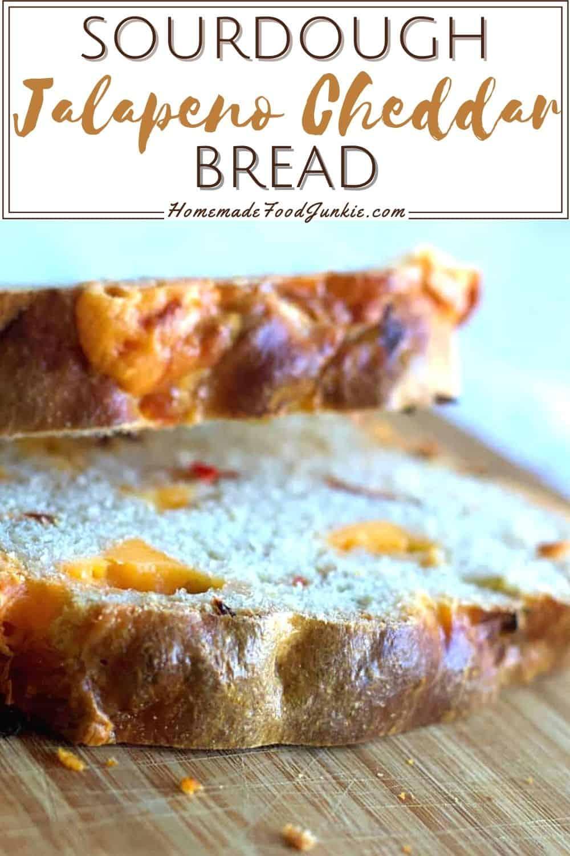Sourdough Jalapeno Cheddar Bread-Pin Image