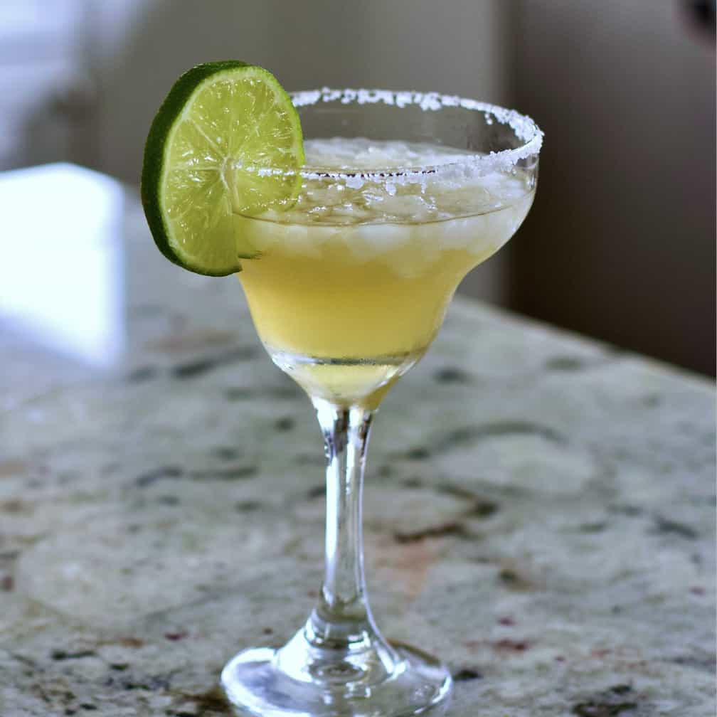 Cadillac Margarita on counter