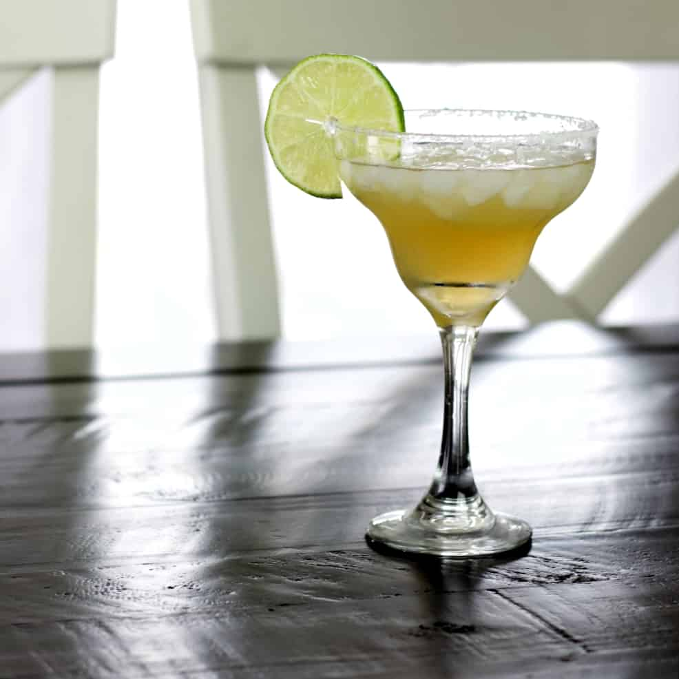 Cadillac Margarita with chairs