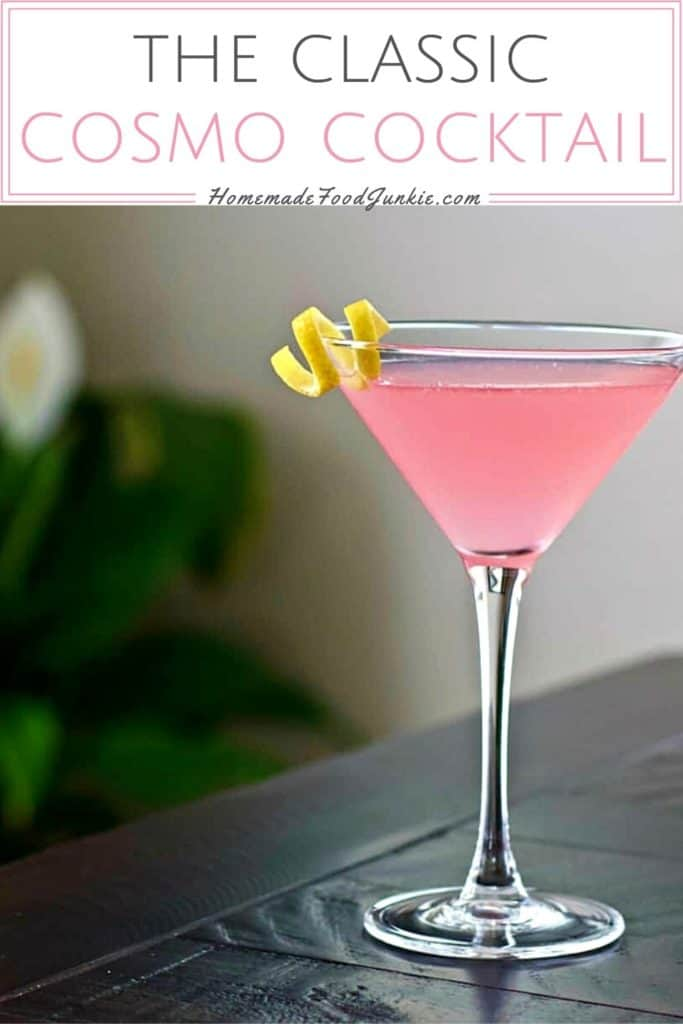 The classic cosmo cocktail-pin image