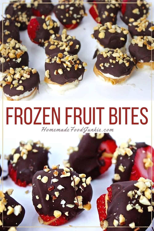 Frozen Fruit Bites-Pin Image