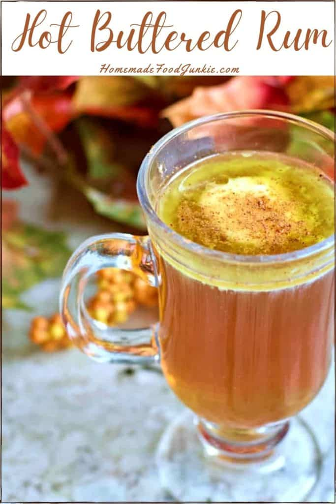 Hot buttered rum-pin image