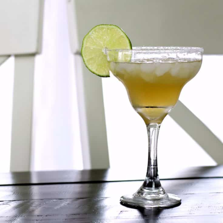 Margarita With 1800 Tequila