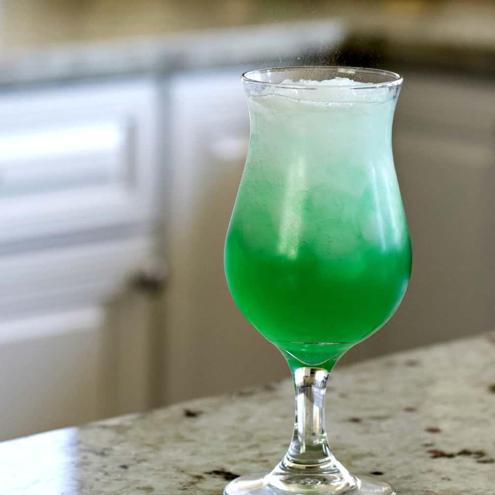 Liquid marijuana drink with Q tonic