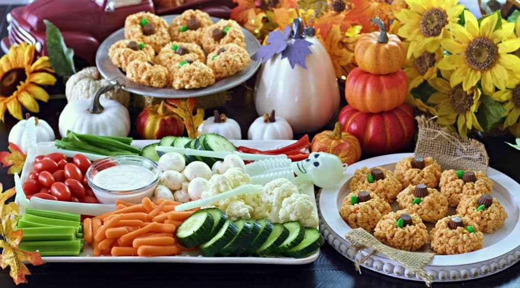 Quick And Easy Halloween Veggie Tray Homemade Food Junkie