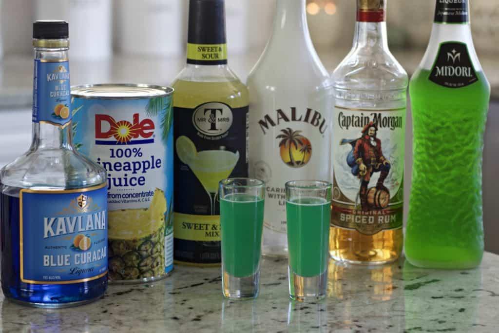 ingredients for liquid marijuana shots