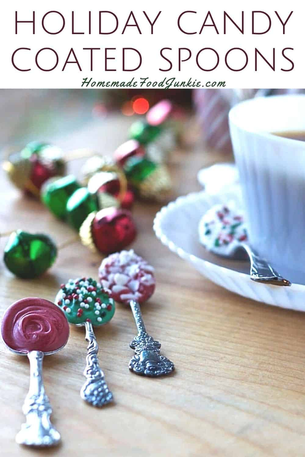 Holiday candy coated spoons-pin image